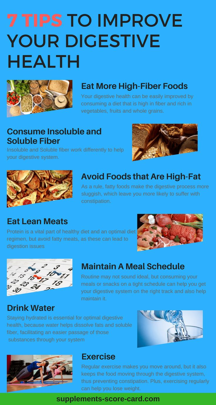 Tips To Improve Your Digestive Health