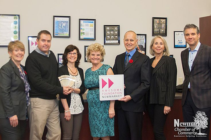 Awesome Foundation Winner | October 2013  #Newmarket