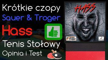 Krótkie czopy Sauer & Troger Hass do Tenisa Stołowego – Opinia i Test