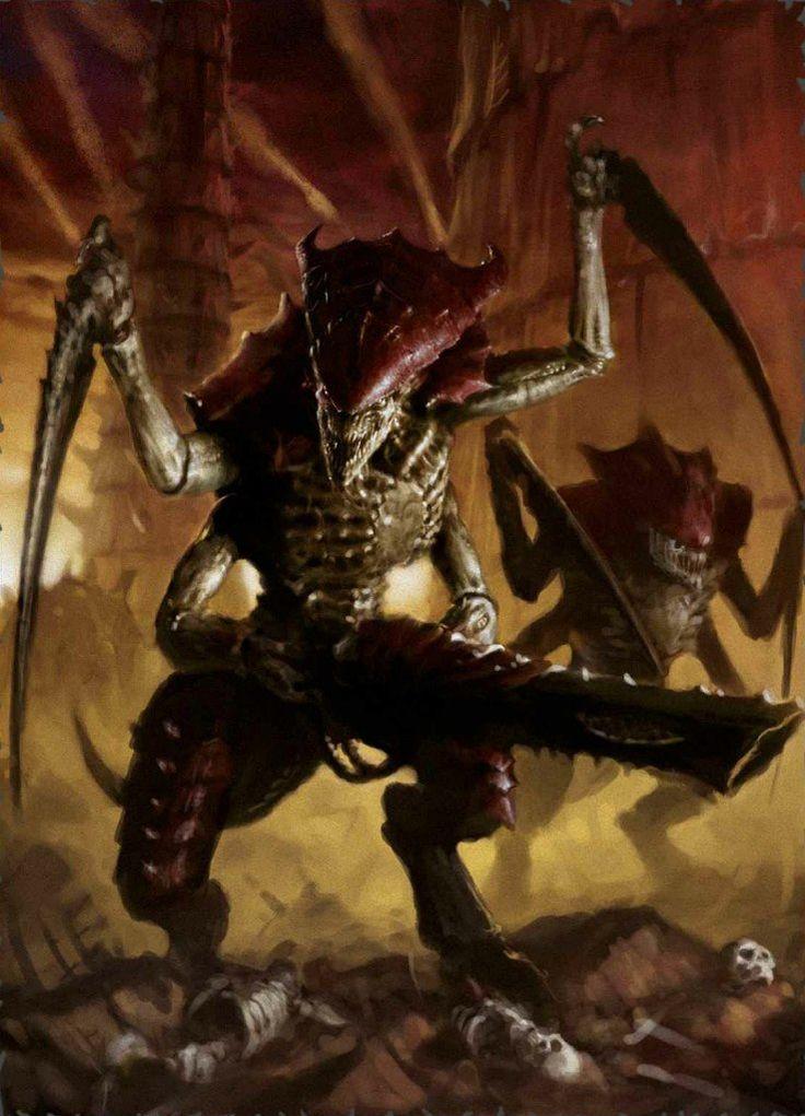 From Beyond The Veil | 40k: Tyranids | Warhammer art ...