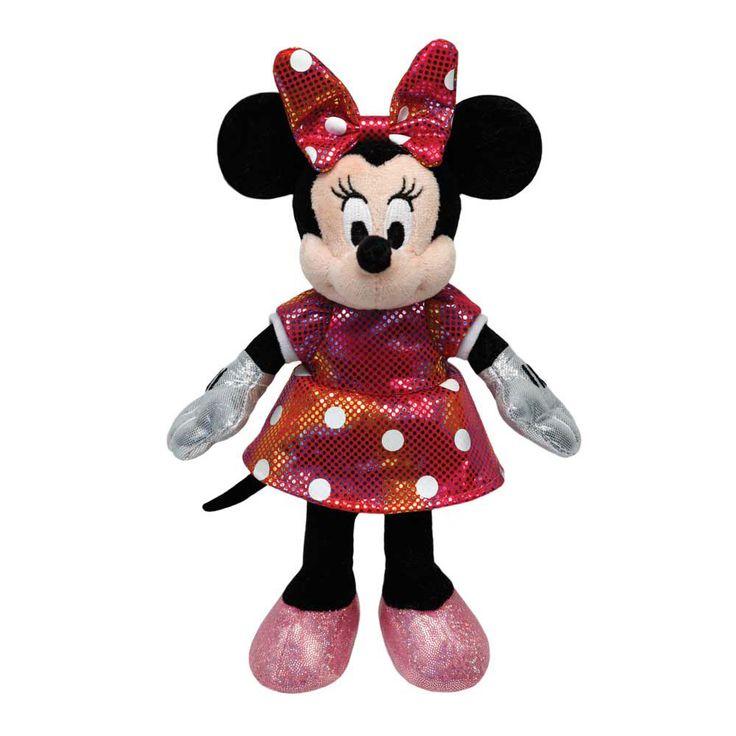 Divirta-se muito com os sensacionais bichinhos de pelúcia Beanie Babies Disney da DTC.   Figuras incríveis do Mickey e da Minnie para colecionar e brincar! Desenvolvidos com materiais de muita qualidade, eles são muito macios e possuem cores vibrantes que vão fazer todos quererem levá-los para casa.   Com esses fascinantes bichinhos de pelúcia Beanie Boos, todos terão muitos momentos de alegria e diversão.