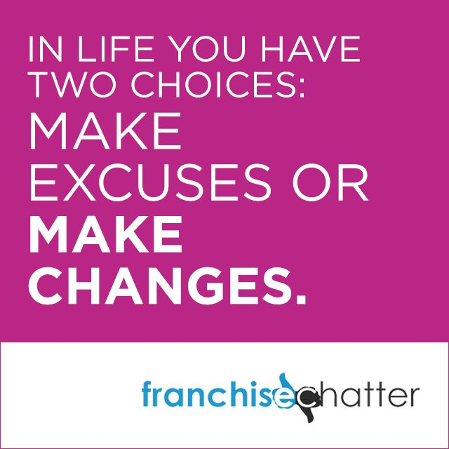 In life you have two choices....