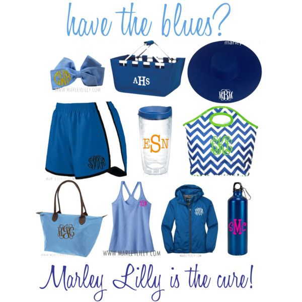 """Have the Blues? Marley Lilly is the Cure!"" by marleylilly on Polyvore"