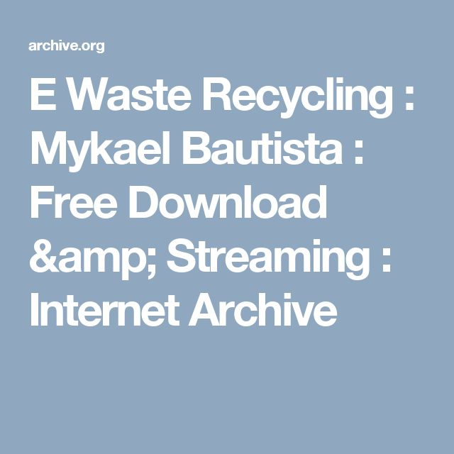 74 best E Waste images on Pinterest Consumer electronics - waste management ppt