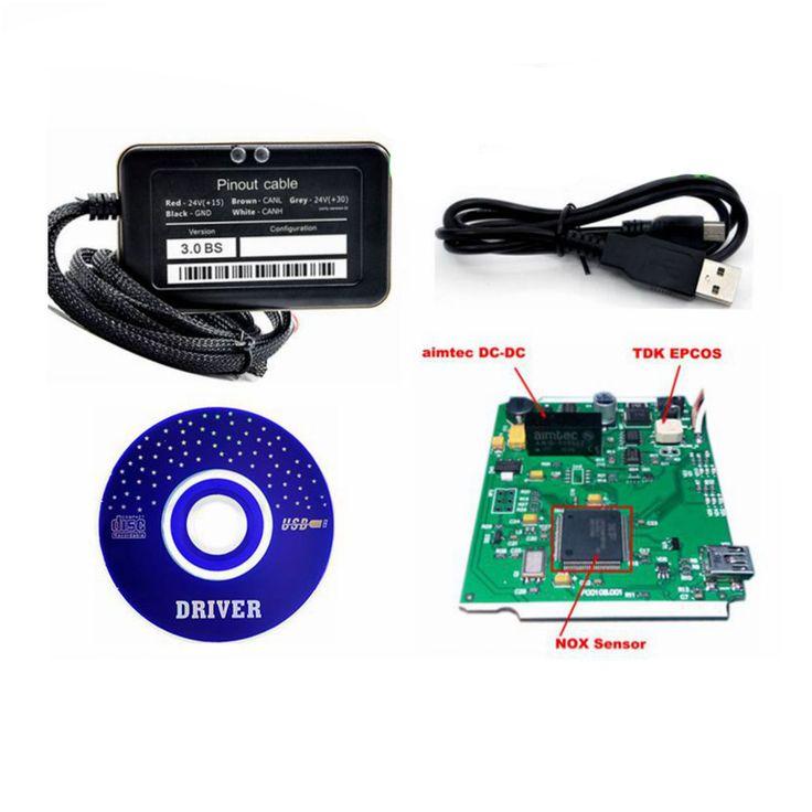 """Последним Adblue 8in1 Грузовик Adblue Эмулятор 8 в 1 супер качество adblue 8 в 1 с датчиком NOx Программирование Адаптер Adblue Эмулятор"""" target=""""_blank"""