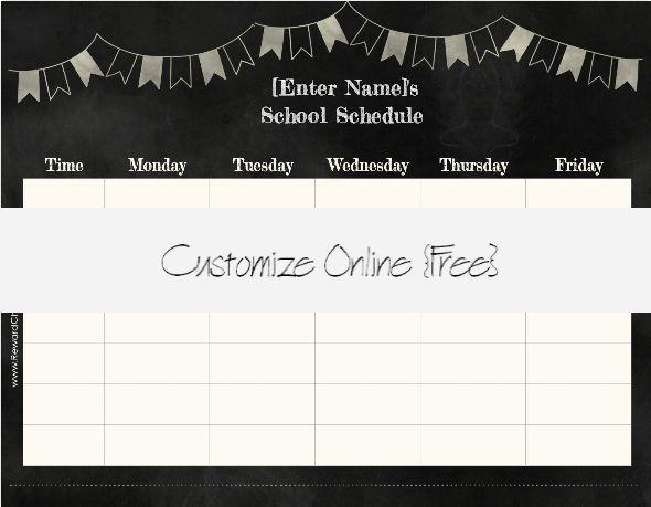 Best 25+ School schedule maker ideas on Pinterest List of indoor - school schedule template