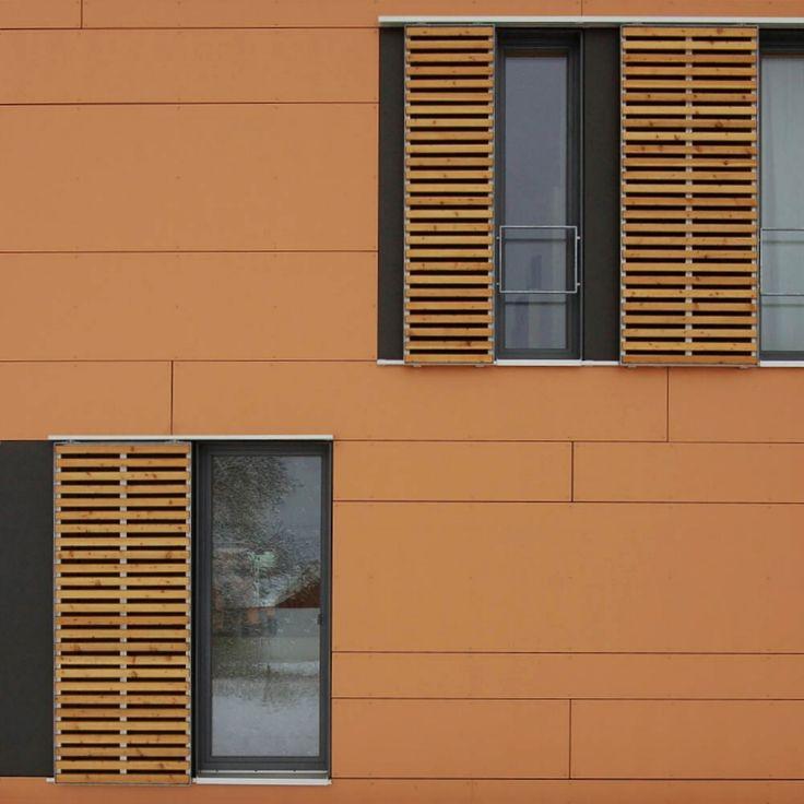Einfamilienhaus - Qualitätsgeprüftes Passivhaus | w - (Holzhaus - Schiebeläden)