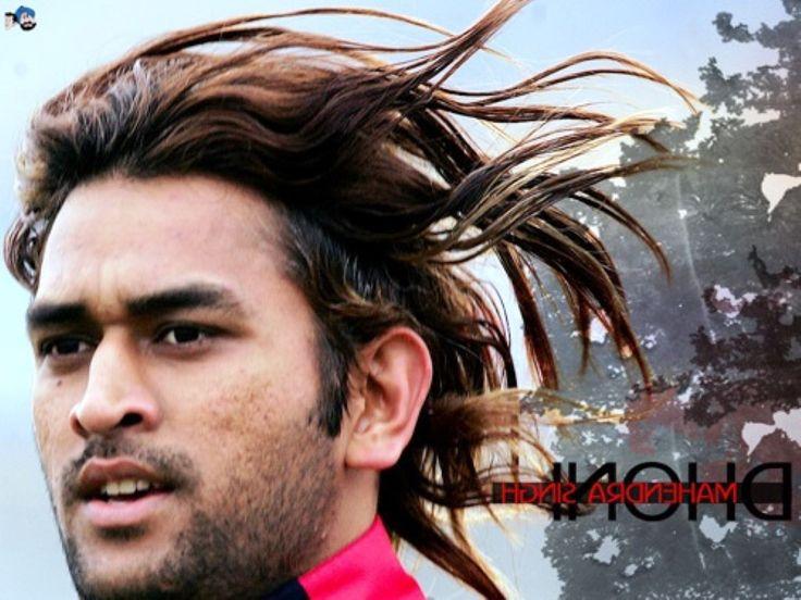Mahendra singh dhoni long hair 2014 - Mens Haircuts 2014 : Mens Haircuts 2014