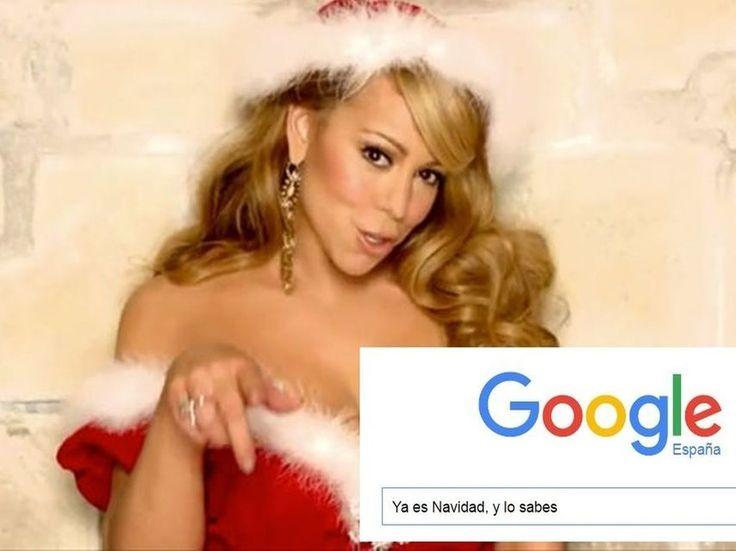 Mariah Carey y Google demuestran que ya es Navidad