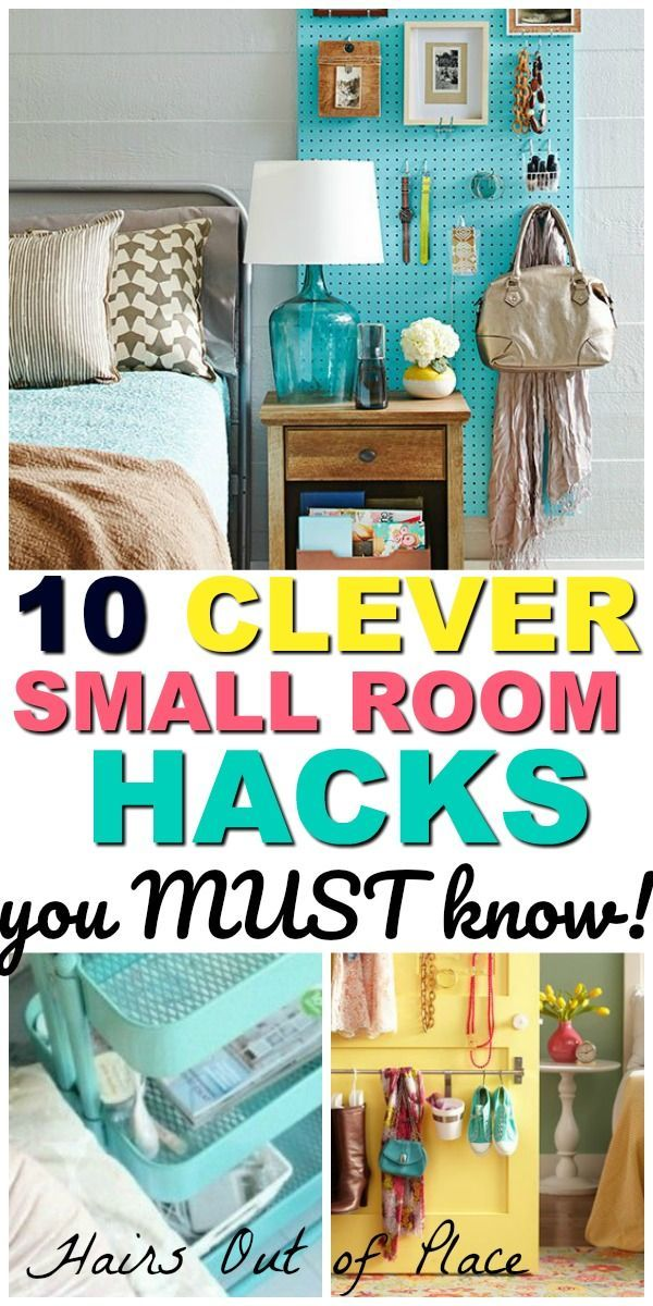 10 Bedroom Organization Hacks That Ll Keep Your Small Space Tidy Hairs Out Of Place Small Bedroom Organization Organized Bedroom Clutter Cheap Bedroom Organization Easy bedroom organization ideas
