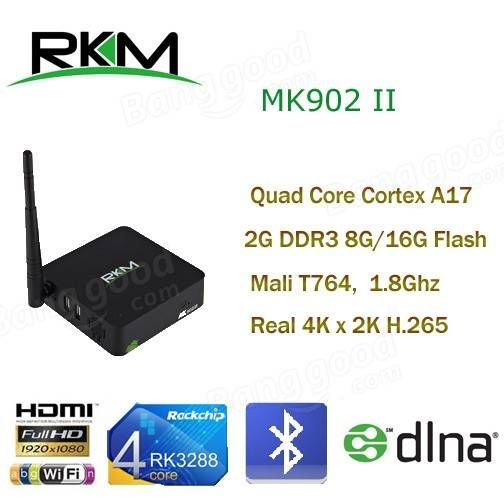 RKM MK902II Mini Computer HTPC Quad Core Android4.4 RK3288 2G DDR3  tablet #computer #laptop #notebook #technology #accessories