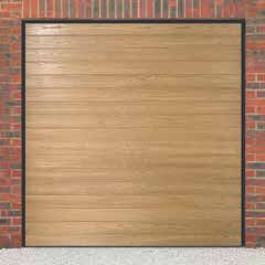 Up and over garage doors are available in a choice of two different types of lifting gear, canopy and retractable. The Up & Over