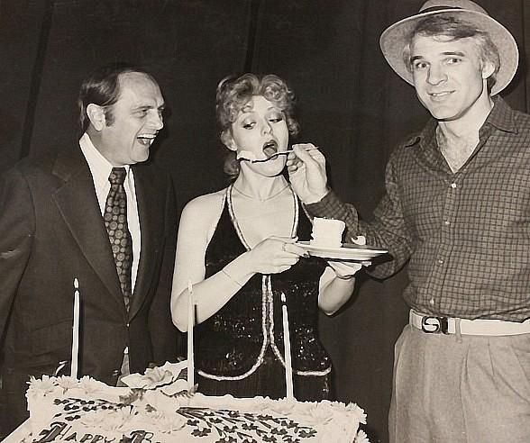 Celebrate 60 outstanding years of the Riviera Hotel & Casino:  Bob Newhart, Bernadette Peters and Steve Martin