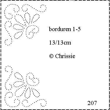 Chrissie 207 patroon