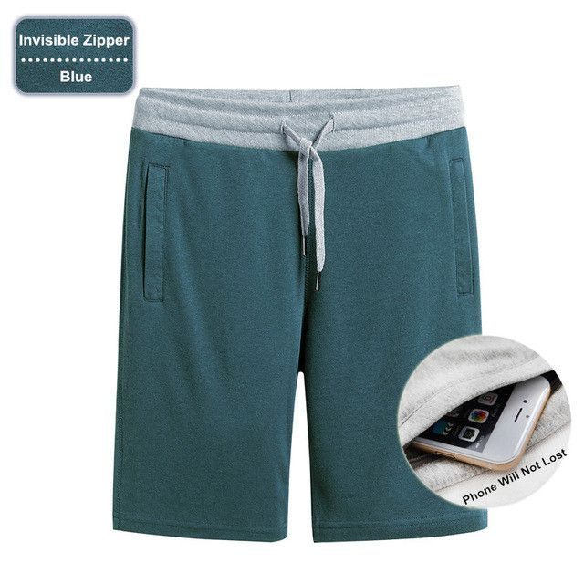 Summer Shorts Mens Cotton Shorts Male Quick Dry Breathable