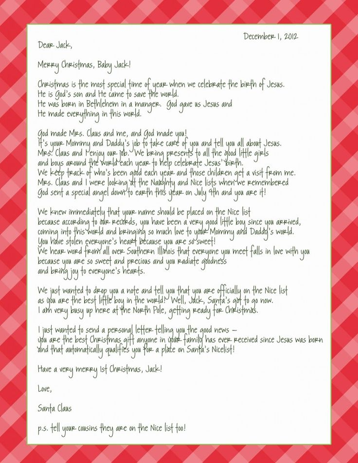 78 Best ideas about Santa Letter Template – Love Letter Template Word