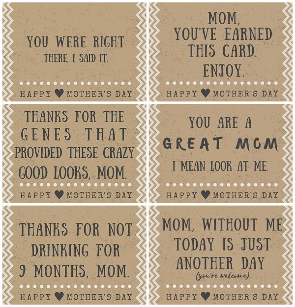 25+ Best Ideas About Funny Mothers Day Poems On Pinterest