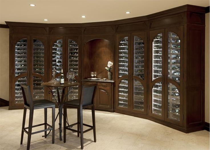 Great Elegant Wine Room Great Ideas