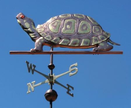 box turtle weather vane by west coast weather vanes this box turtle weathervane can be - Weather Vanes