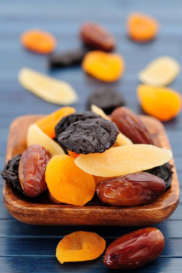 """What to Eat AFTER The Gym - Nuts And Dried Fruit - """"Straight after an intense workout many calories can be lost. Those looking to recover fast will need to replace this lost energy. Nuts such as almonds or walnuts can provide lots of energy is small handfuls. They are also a great form of healthy fat and protein. Adding some dried fruit will ensure glycogen levels are rapidly replenished, ready for the next workout."""""""