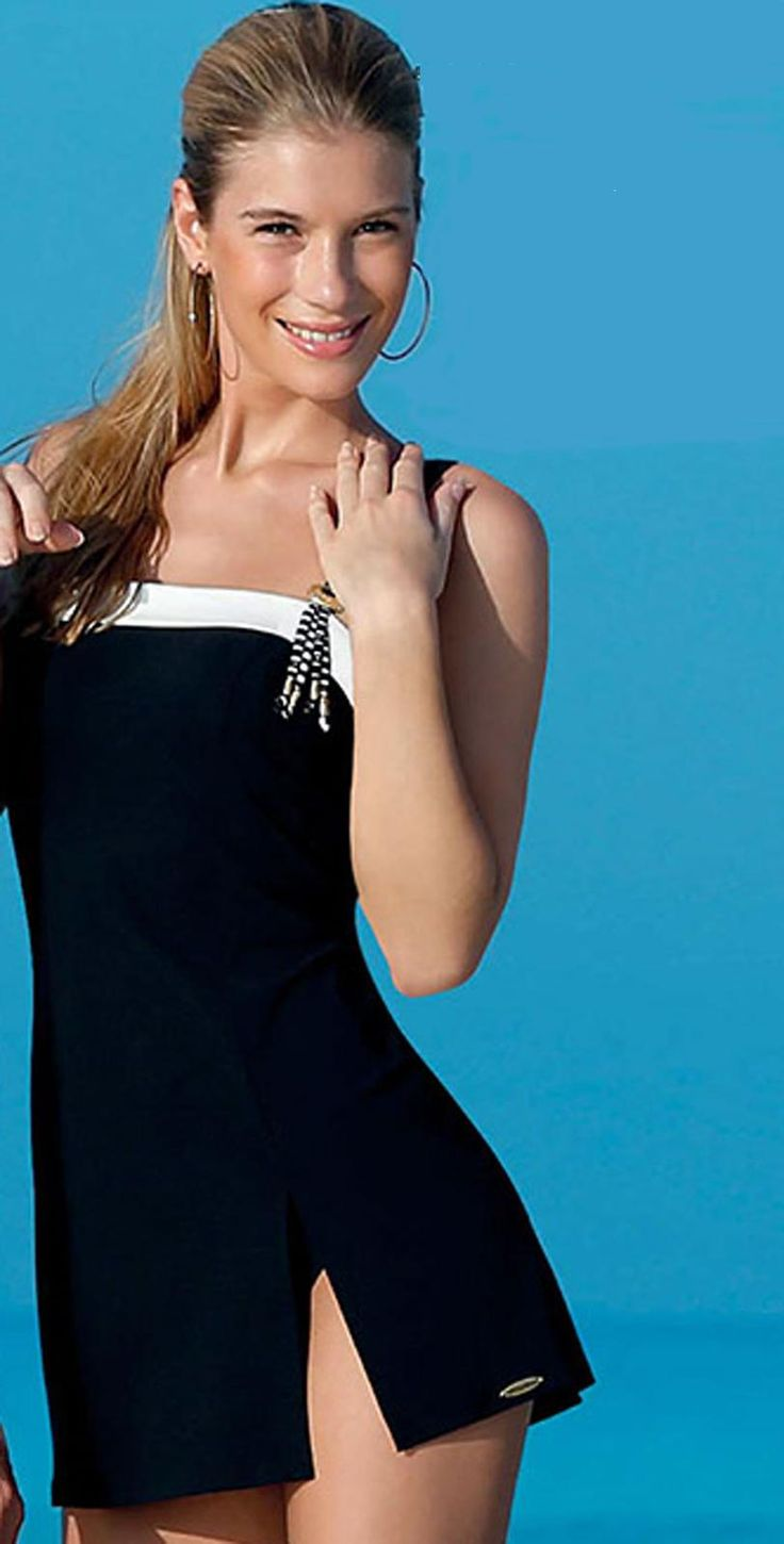 skirted swimsuits black gold and swimsuits on pinterest