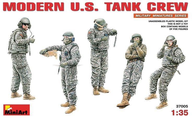 37005 MODERN U.S. TANK CREW
