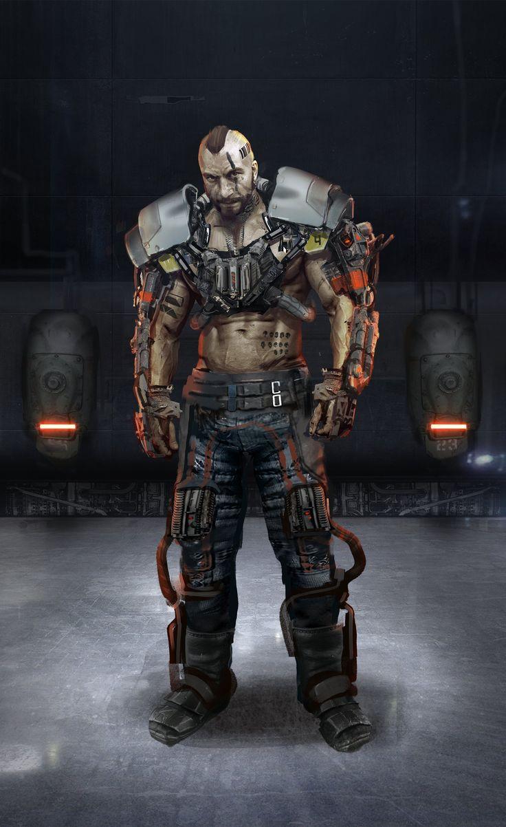 ArtStation - Unreal Tournament Character Concepts, Adam Wood