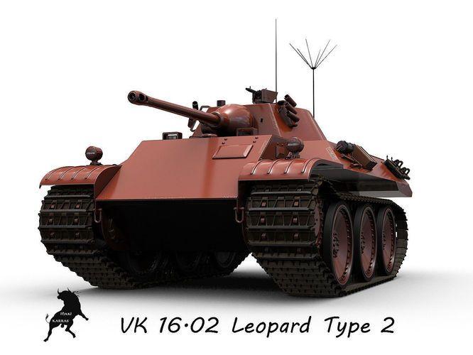 vk  16-02  leopard prototype 2 3d model max obj fbx 1