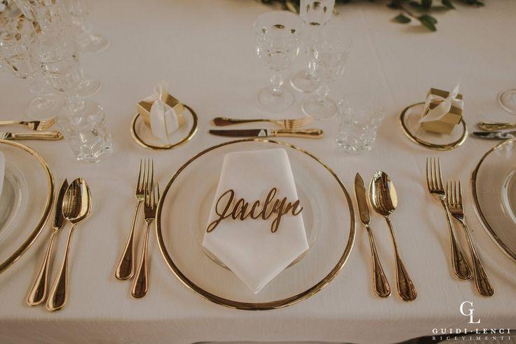 Gold touches.. #TuscanLove Production #Guidilenci PH: http://marinkovic-weddings.com/
