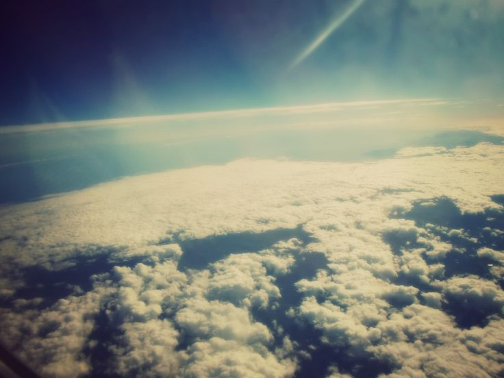 Over the sky..
