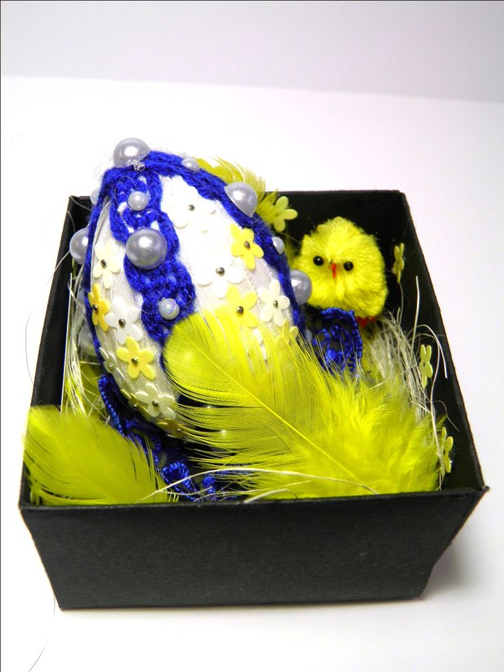 HandMade Easter egg in the box 3