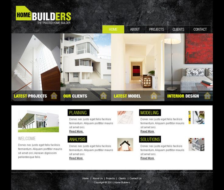 Web Templates Architecture By Netspy9286 #webdesign   More Web Ideas At  Stylendesigns.com