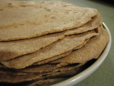 sprouted-spelt-tortillas... Tried and true I love these! Just don't cook them too long.. Maybe a min on each side or else they get hard and crunchy... Otherwise they are soft and tasty!