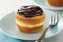 Boston Cream Pie Minis Recipe - fun, individual dessert.
