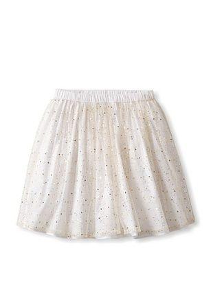 62% OFF Moon Et Miel Girl's Juliette Skirt (White With Glitter)