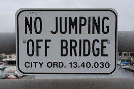 Anmelden, Verordnung, Gesetz, Brücke