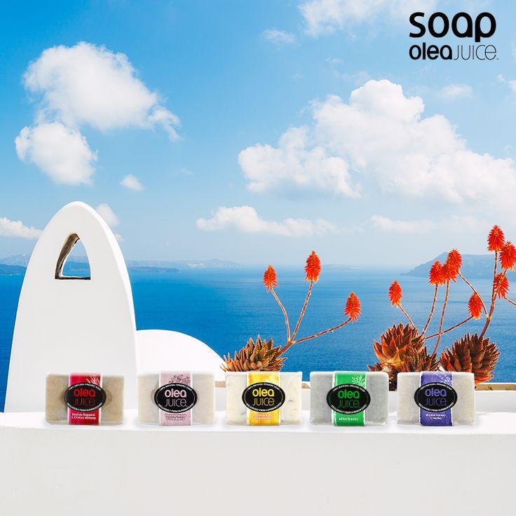 Φυτικά έλαια, νερό, γλυκερίνη, το μαγικό ελαιόλαδο Olea Juice και τα καλύτερα βότανα της ελληνικής γης. #greece #oleajuice #soap #artisanal #handmade