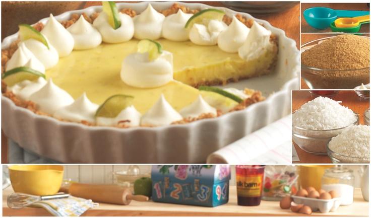 Anna Olson's Key Lime Pie