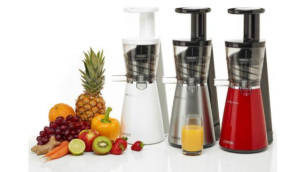 ΠΡΩΙΝΟ - ΓΛΥΚΑ :: Αποχυμωτές - Πολτοποιητές :: ΑΠΟΧΥΜΩΤΗΣ ΠΟΛΤΟΠΟΙΗΤΗΣ Slow Juicer JUPITER Juicepresso 3-in-1 867100 Silver - i-Home