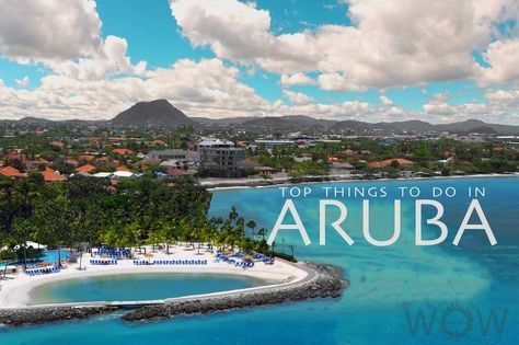 Aruba is a diverse island, known for its white sand beaches, crystal clear water, stark desert views, and sharp volcanic rock formations. Check out our Top 10 Things To Do In Aruba