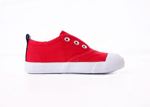 Red Canvas Sand Shoe