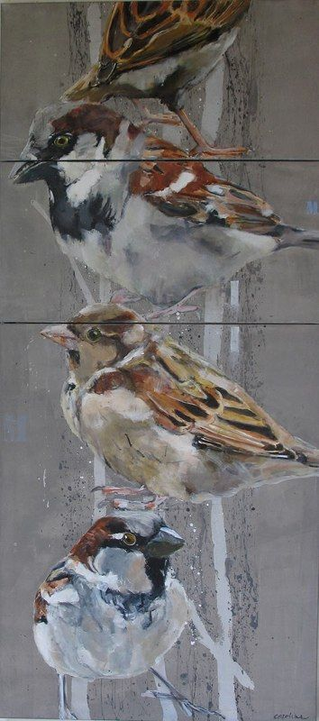 Birds 2007 by Caroline Havers, inspiration for the new piece