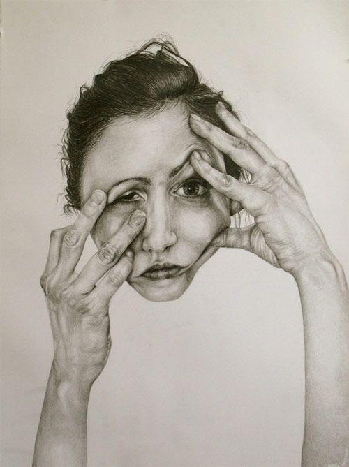 Drawings by artist Gillian Lambert