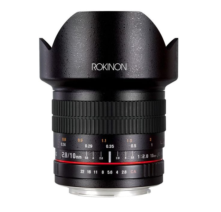 Rokinon 10mm F2.8 ED AS NCS CS Ultra Wide Angle Lens with AE Chip for Nikon #Rokinon