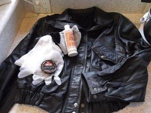 Limpiar chaqueta de cuero