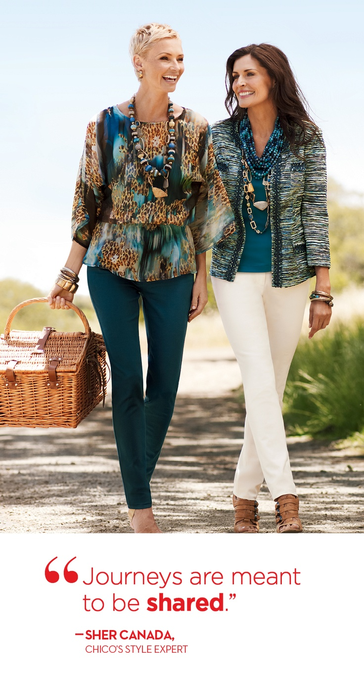 #chicos Outfit on right. It's a maybe for the top on left :)