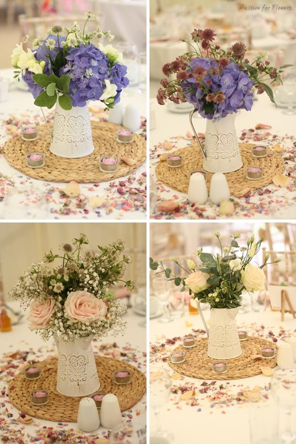 Centrepieces. country garden wedding flowers Archives - Passion for Flowers ~ Blog