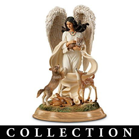 Native Blessings Angel Figurine CollectionNative American