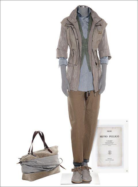 Каталог весна-лето 2011 от Brunello Cucinelli  Осень-зима 2014/2015 на Fashion-fashion.ru