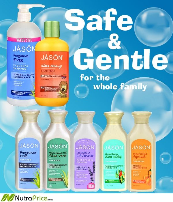 Jason Pure Natural Shampoos, Conditioners & Detanglers are gentle enough for daily use. Something for the whole family, these great products contain botanical extracts, vitamins & proteins to keep every hair type at its healthy-looking best.  Plus! they're biodegradable :)  #crueltyfree #biodegradable #shampoo #conditioner #natural #organic #forthefamily #pure #kidsshampoo #botanicals